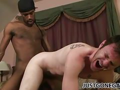 Tapping the ass of a tattooed white guy tubes