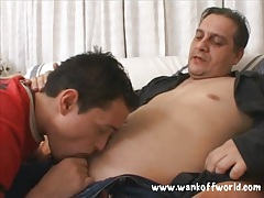 Gay daddy bangs the ass of cute young guy tubes