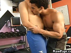 Two hot latino guys enjoy passionate sex tubes