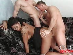 He nails a black chick and sucks a dick tubes