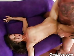 Nicely toned latina getting fucked hard tubes