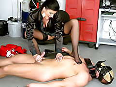 Fun with her submissive tubes