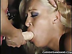 Filthy lesbian gangbang tubes