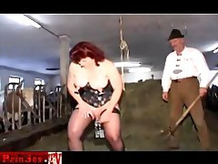 Painsex.tv doublefisted extreme slave tubes