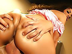 Big ass groping tubes