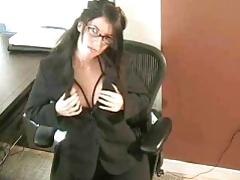 Office masturbation with tiffany preston tubes