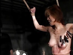 Whip lashing leaves real marks on japanese girl tubes
