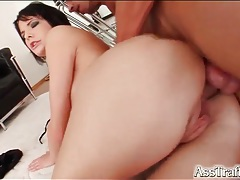Hot girl in high heels has anal sex tubes
