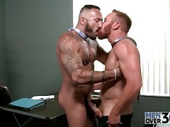 Bears at work in gay blowjob video tubes
