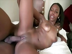 Amateur ebony cunt fucked in sex video tubes