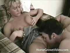 Sucking her mommy tits and getting his dick sucked tubes