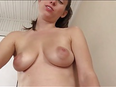 Lelu love slowly rides your rock hard cock tubes
