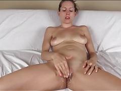 Lelu love masturbates her pussy with your cum tubes