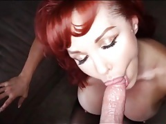 Redhead mommy in pov hardcore video tubes