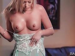 Sensual lingerie tease video stars brea bennett tubes
