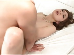Cock fucks a creampie into japanese pussy 2 tubes