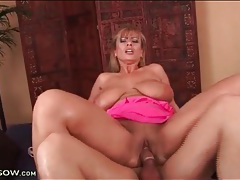 Big natural titties are tasty on cock riding mom tubes