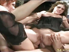 Double anal fuck of dirty whore riding guys tubes