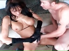 Slutty alektra blue sucks dick and balls tubes