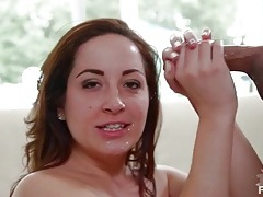 Brown eyed cutie marley blaze sucks off cock tubes