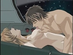 Hentai science fiction fuck in space tubes