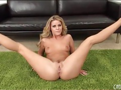 Sparkly high heels are sexy on jessa rhodes tubes