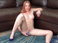 Marie mccray has dildo sex in high heels tubes