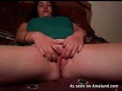 Curvy camgirl with incredible big natural tits tubes