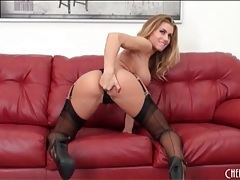 Smoking hot pornstar randy moore in lingerie tubes