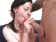 Mature with tiny little titties fucked doggystyle tubes