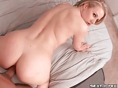 Blonde craves deep doggystyle anal sex tubes
