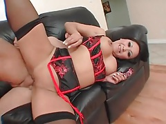 Sexy lingerie on a hot asian having sex tubes