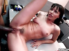 Dana dearmond fucks bbc in the office tubes