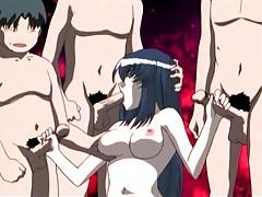Guys take turns fucking a hentai submissive tubes