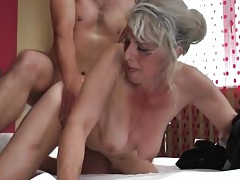 Slutty grandma has hot doggystyle sex tubes
