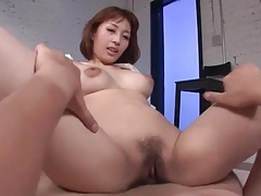 Horny japanese slut is a hot cock rider tubes
