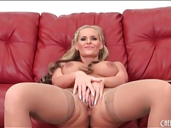 Phoenix marie solo porn in sexy stockings tubes