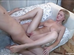 Teenage anal sex with the girl on top tubes
