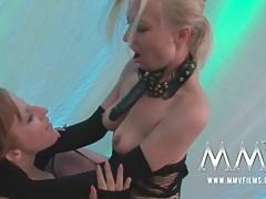Girls get slutty in wild group sex scene tubes