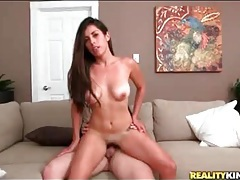 Long cock fucks a girl on her hands and knees tubes