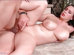 Big boobs beauty fucked in her smooth cunt tubes