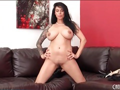 Tera patrick is stunning in sheer black panties tubes
