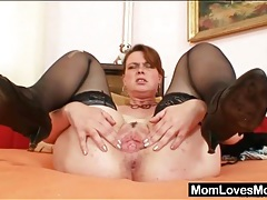 Big beautiful tits on this sexy solo mature tubes