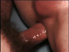 Tight twink asshole pounded in locker room tubes