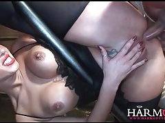 Flexible cock sluts butt fucked in group video tubes