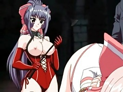 Sexy dungeon play with pretty hentai girl tubes