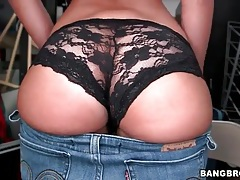 Sophia steele has a hot ass in lace panties tubes