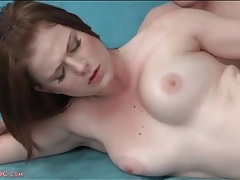 Young curvy beauty in hardcore sex scene tubes