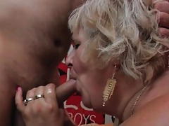 Fat hairy granny fucked by young dick tubes