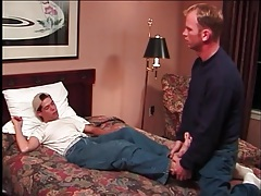 Lusty gay foot fetish porn in the hotel room tubes